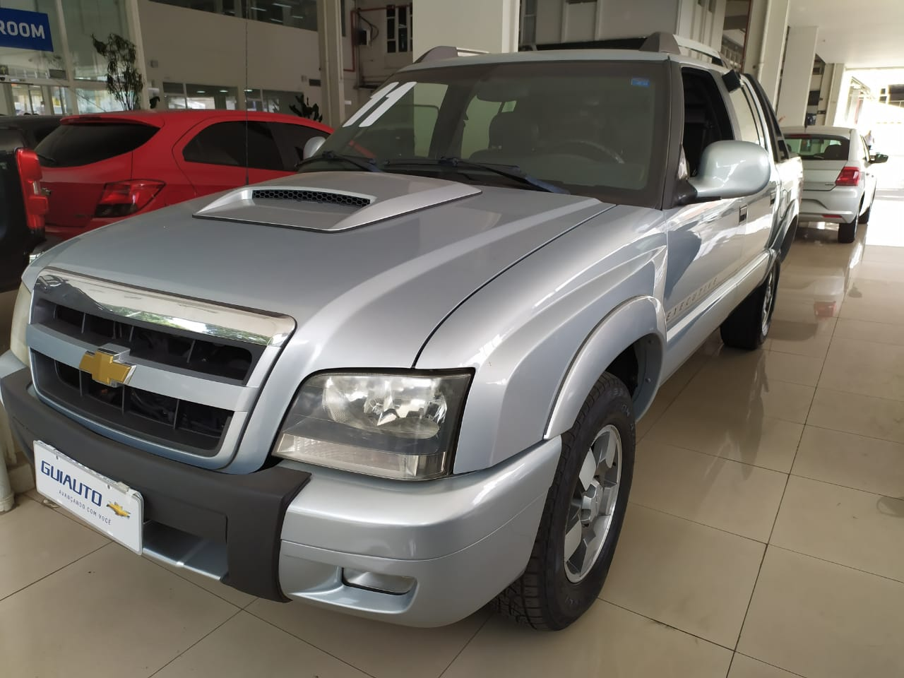 CHEVROLET S10 CABINE DUPLA S10 EXECUTIVE 4X4 2.8 TURBO ELECTRONIC (CAB DUPLA)
